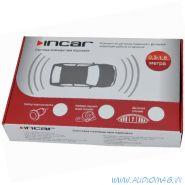 Incar PT-1044B (видеопарктроник 4д. black LCD 4.3)